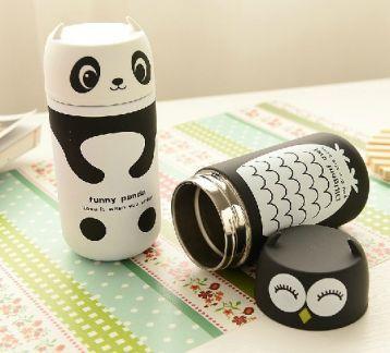 Panda - baykuş termos