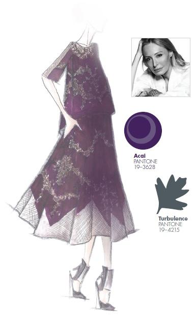 #FCRF13 Designer Inspiration: @Barbara Acosta Acosta Griffin MAX AZRIA by Lubov Azria http://pantone.com/Fall2013