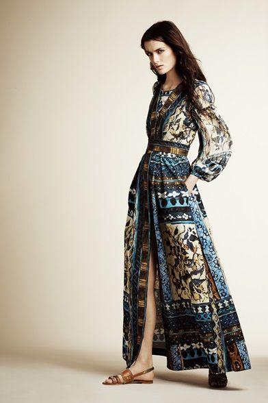 Sfilata Alberta Ferretti New York - Pre-collezioni Primavera Estate 2016 - Vogue