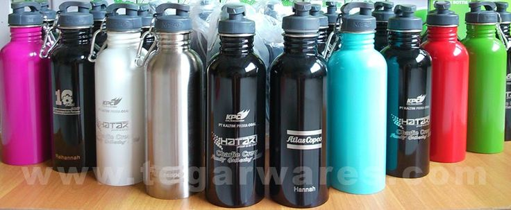 Fresco drinking water bottles 750ml. 100% Stainless steel, wide-mouth bottle this is not an ordinary promotional water bottles, it's a collectors item!