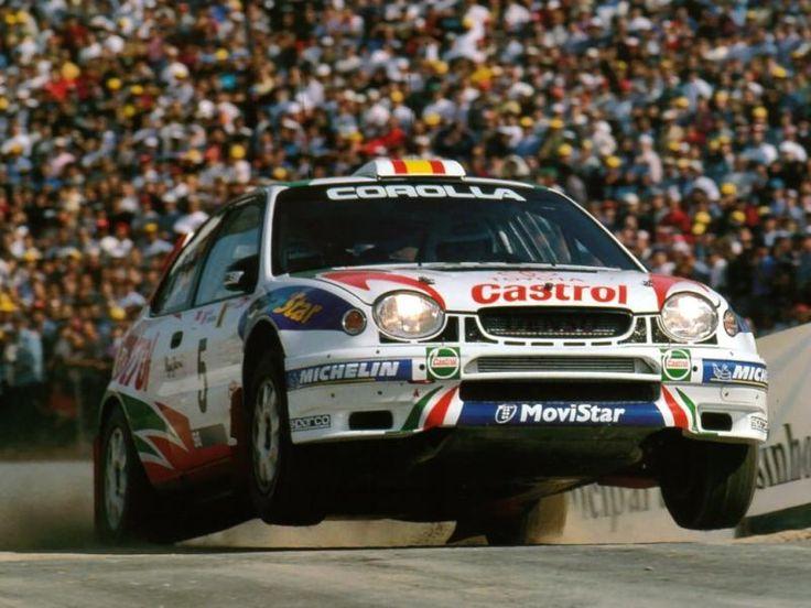 Toyota Corolla WRC rally car - Carlos Sainz