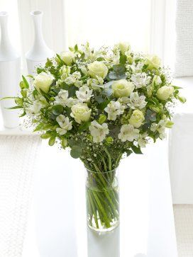 Fairtrade Pure White Hand-tied