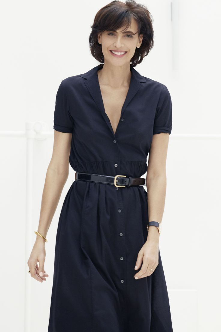 Tags french fashion la redoute secrets to french style style - Ines De La Fressange For Uniqlo Shirt Dress