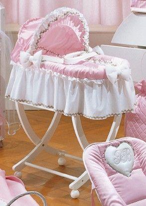 Fabric Doll Bassinet