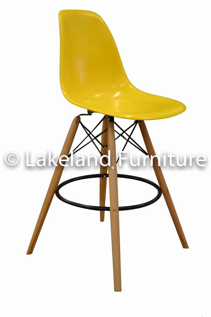 Unique Yellow Counter Height Stools