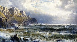 William Trost Richards - Moye Point, Guernesey, Iles Anglo-Normandes