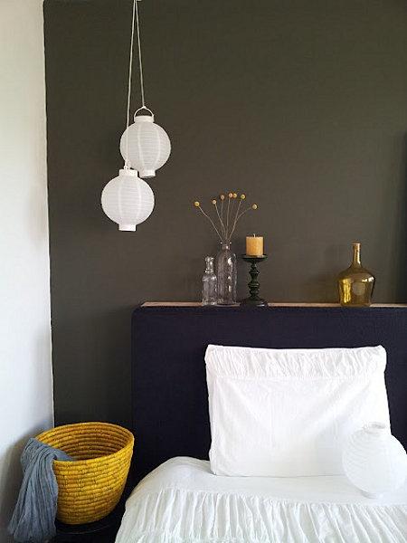 jolie déco de chambre - boules japonaises Lisanne van de Klift #bedroom