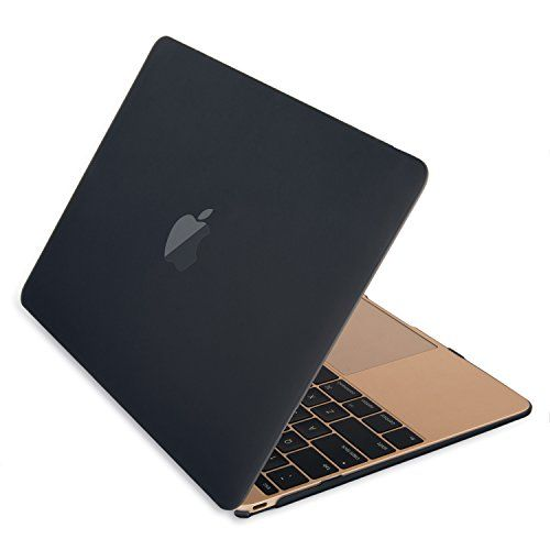 Mosiso Hard Case for New Macbook 12 Inch with Retina Display (Black)