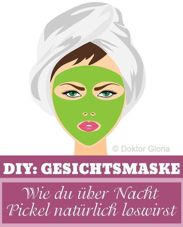 DIY Pickelmaske: How to get rid of your pimples overnight