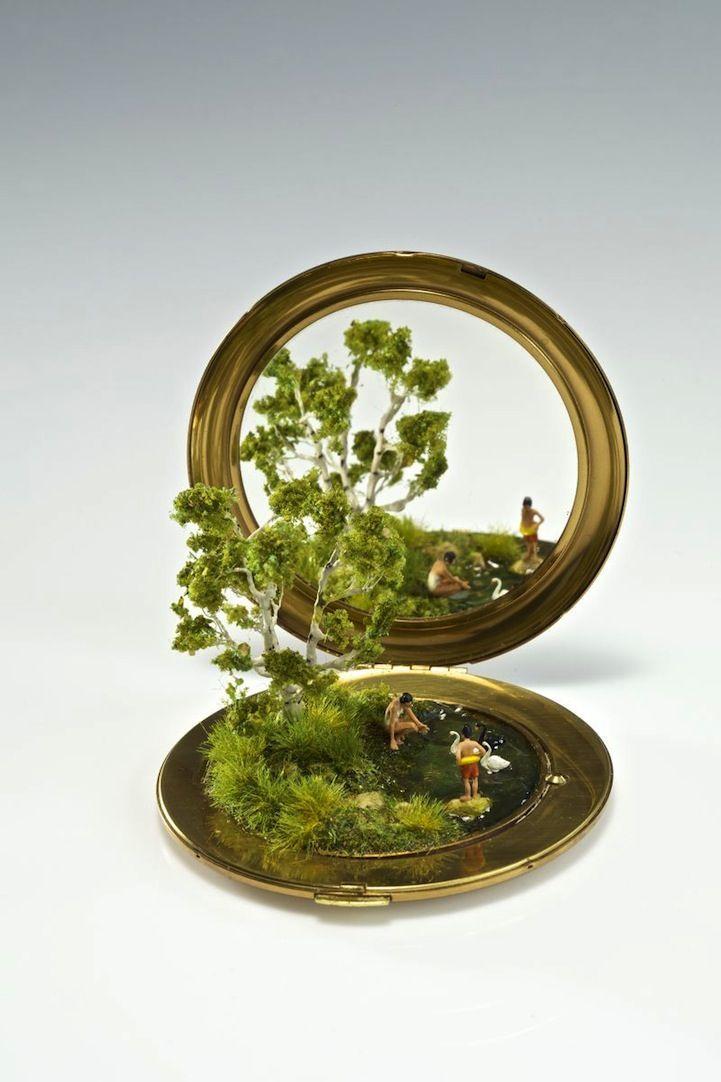 Ring Box Dioramas : ring box diorama