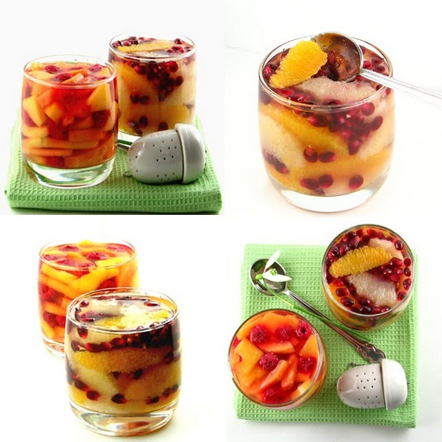 Fruit, Teas and Jelly on Pinterest