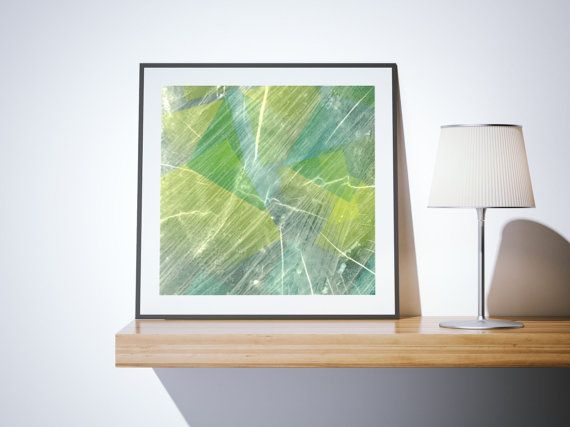 Green blue printable printable download original abstract
