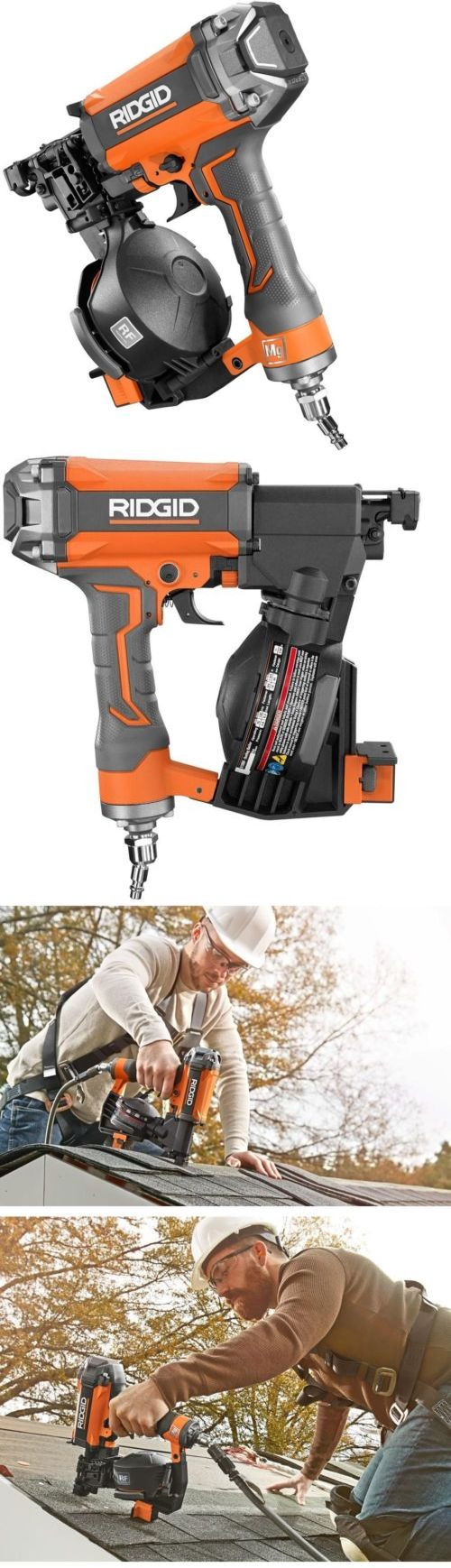 Roofing Guns 42243: Ridgid 15 Degree 1-3 4 In. Coil Roofing Nailer -> BUY IT NOW ONLY: $267.66 on eBay!