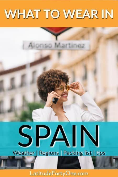What to Wear in Spain According to Season