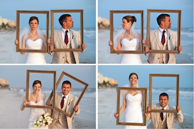 Fun with frames. By Carrie Wildes Photography.