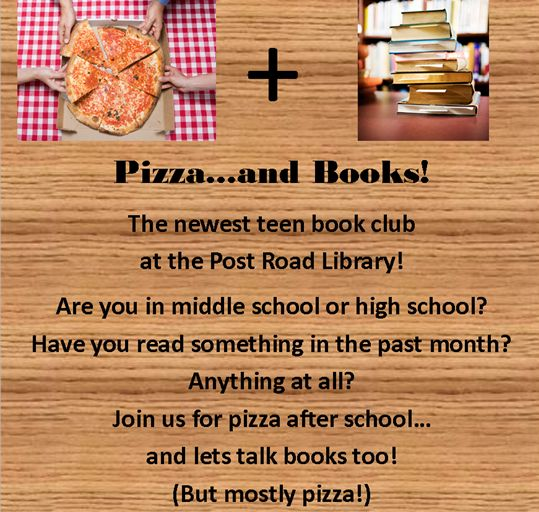 Pizza and books