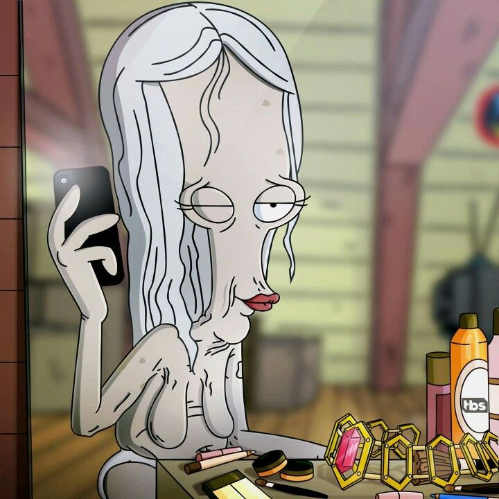Some of Our Favorite Animated Aliens  Roger Smith American Dad
