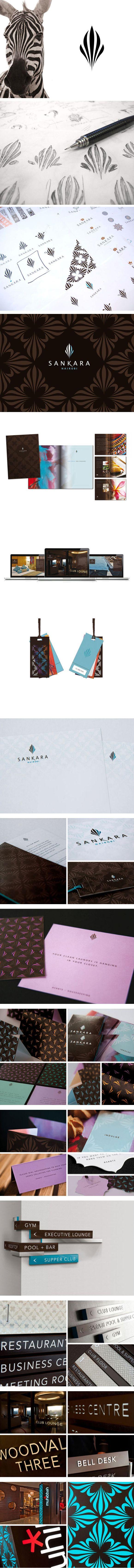 Sankara 酒店形象设计