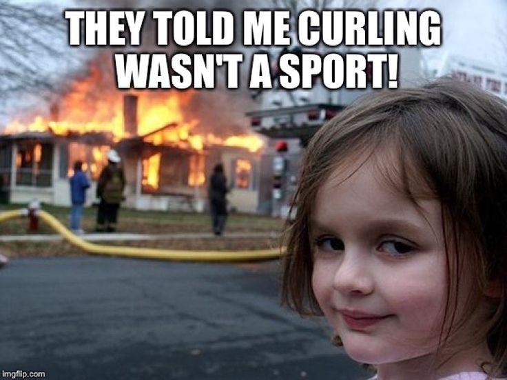 Funny Curling Meme