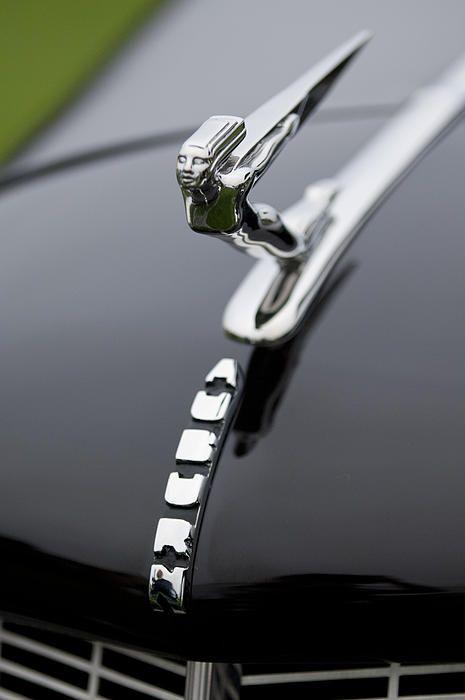 1936 Auburn 852 Supercharged Speedster Hood Ornament - Car Images by Jill Reger