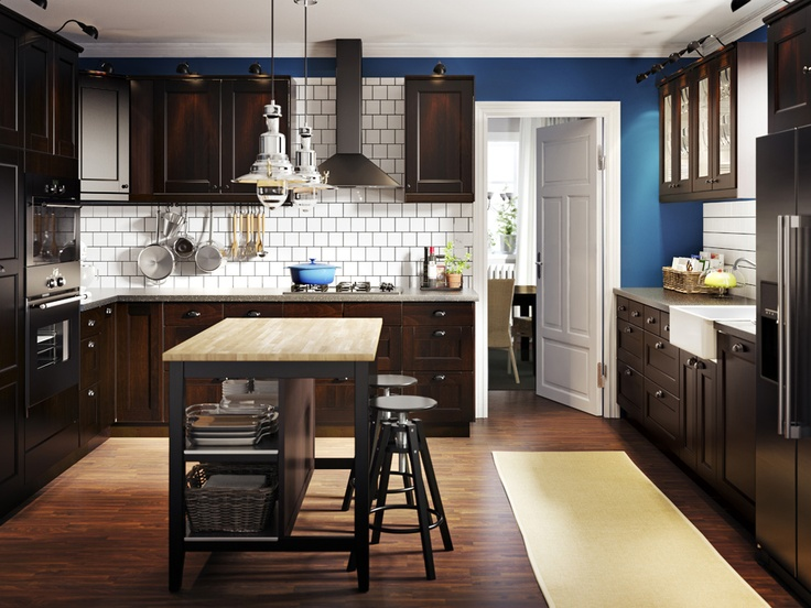 17 best images about my ikea playbook on pinterest for Can i paint ikea kitchen cabinets