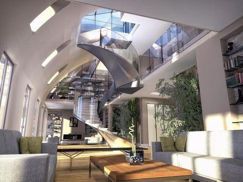 marc ifrah architecture appartement opra - Logiciel Gratuit Architecte Interieur