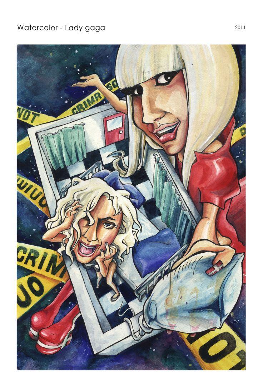 Watercolor - Lady Gaga