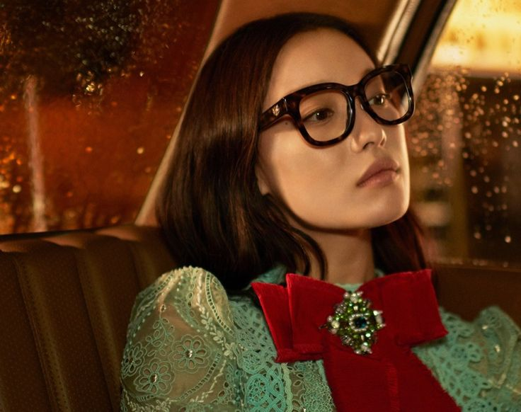 Chinese actress Ni Ni stars in Gucci's spring 2017 advertising campaign