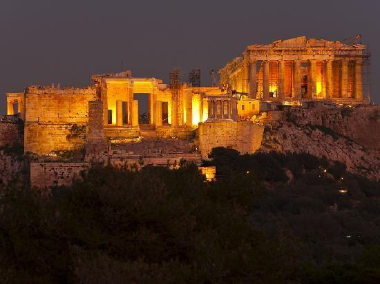 Die Akropolis am Abend (c) TobiasSchorr (29374744)