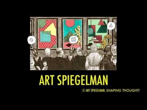 ▶ An introduction to WORDLESS! Art Spiegelman's intellectual vaudeville show - YouTube