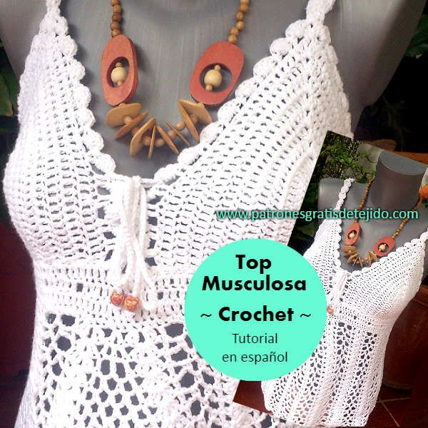 312 best Corpiños, top o petos a Crochet. images on Pinterest ...