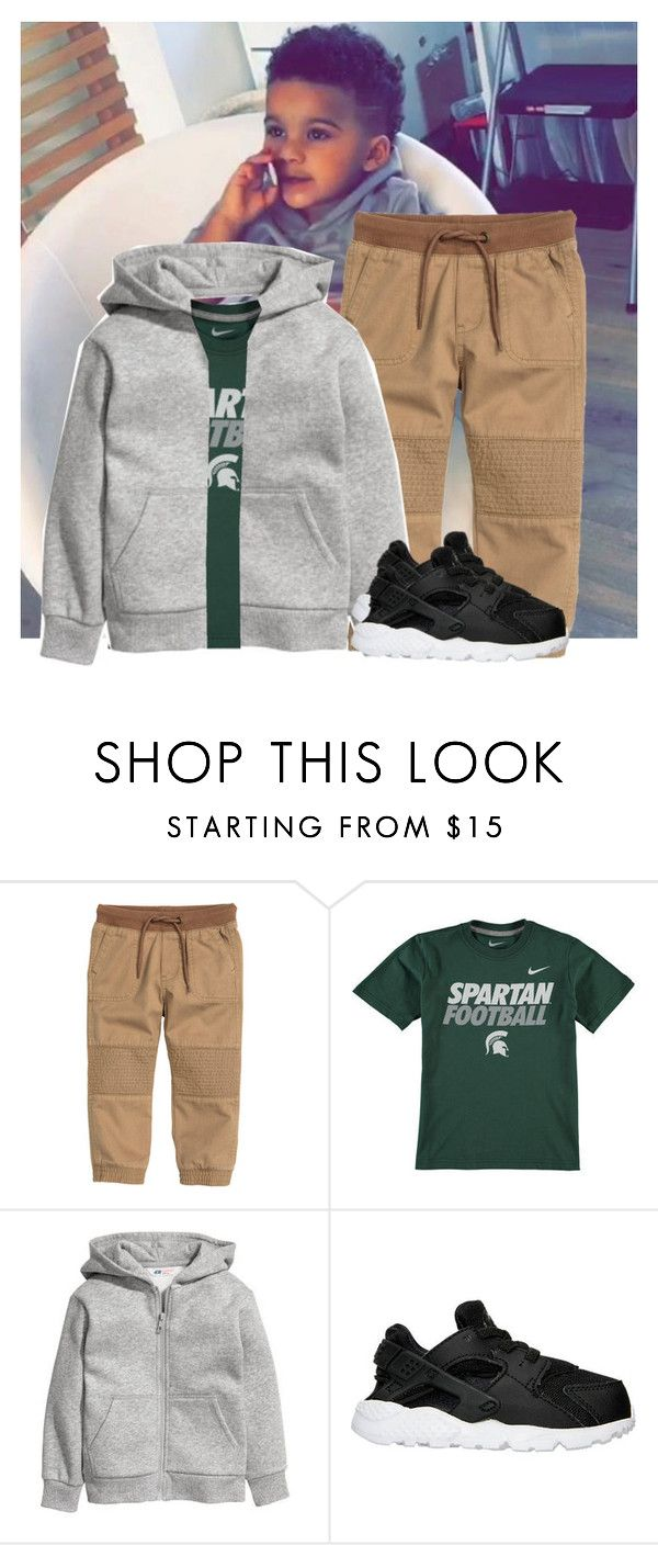 """MSU Game Carter"" by thewhittefamily ❤ liked on Polyvore featuring Sanders and NIKE"