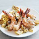 Try the Grilled Shrimp and Summer Squash Recipe on williams-sonoma.com