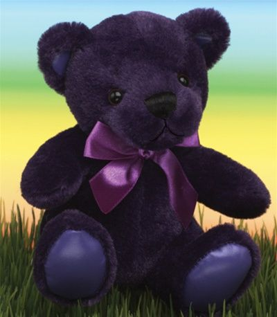 Purple Teddy Bear