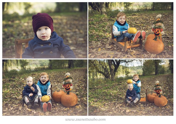 autumn / children / outdoor photography