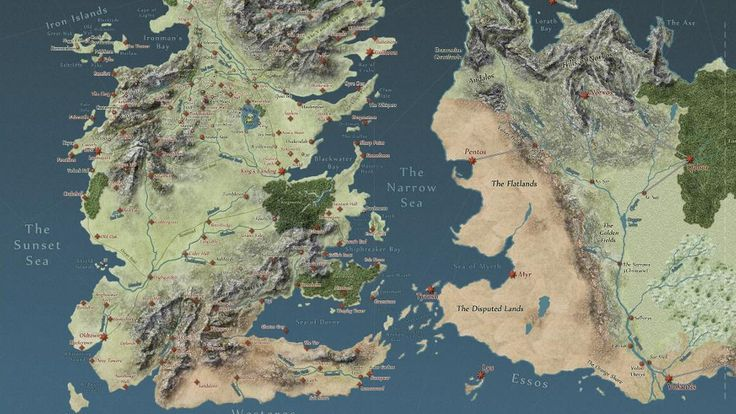 Interactive Game of Thrones map will make you an expert on Westeros | Polygon