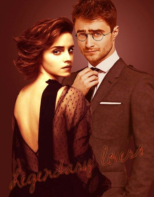 1000 images about harry and hermione on pinterest - Hermione granger and harry potter kiss ...