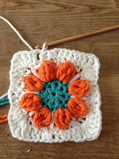 Annoo's Crochet World: Spring Flower Granny Free Pattern