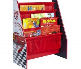 This Disney Cars Sling Bookcase Is Perfect For Keeping All Little Cars Fans  Rooms Neat And Tidy. The Four Fabric Compartments Can Hold Books Of Various  ...