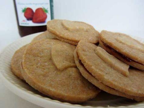 Suikervrij recept: Zanddeeg koekjes -glutenvrij - suikervrij - zuivelvrij