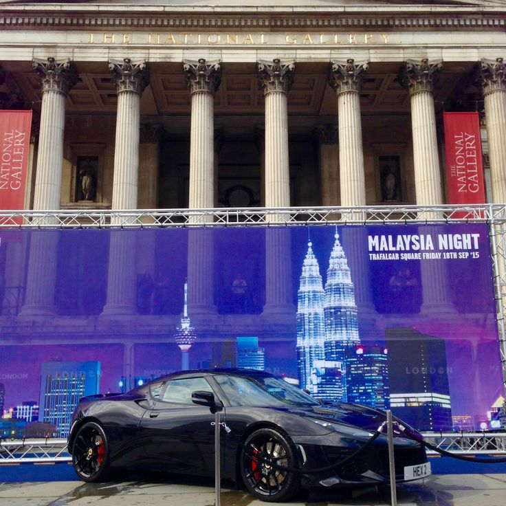 The new Lotus Evora 400 lights up Malaysian Night 2015 in London