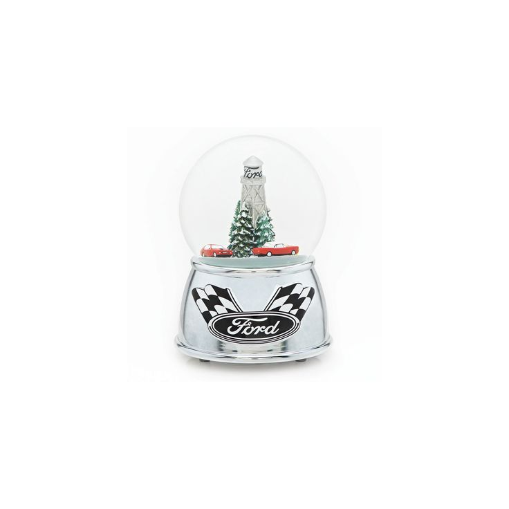 6 Musical Racing Car Glitterdome - Ford Motor Company,