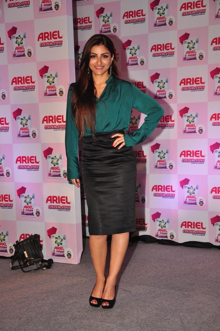 Soha Ali Khan at New Variant Launch by Ariel.