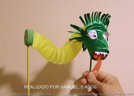 marioneta dragon chino