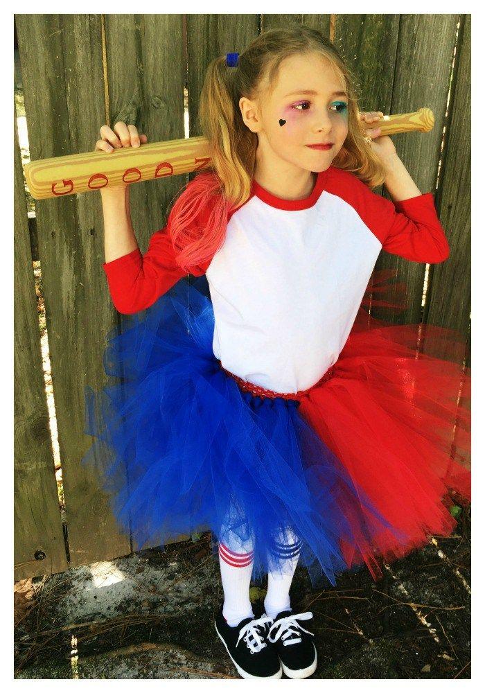 The 25 best harley quinn kids costume diy ideas on pinterest diy harley quinn tutu costume tutorial solutioingenieria Choice Image