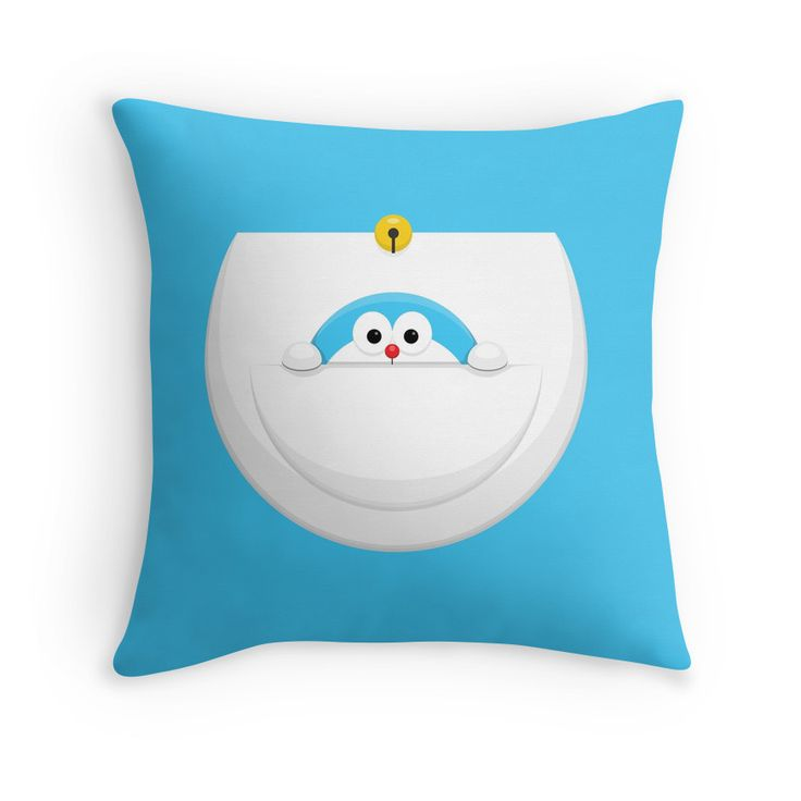 Dora From The Dora's Pocket #doraemon #cartoon #movie #tv #vector #pillows #redbubble #japan # merchandise