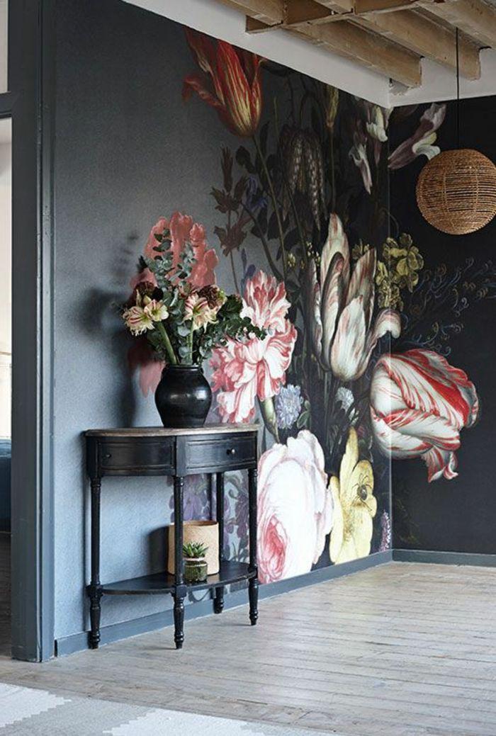 Idee Papier Peint Salon Moderne