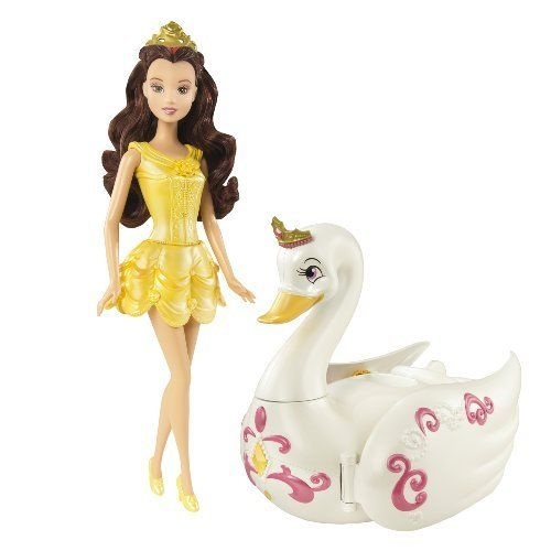 Amazon Com Disney Princess Baby Belle Doll Toys Games: Disney Princess Royal Bath Belle Doll And Salon Gift Set