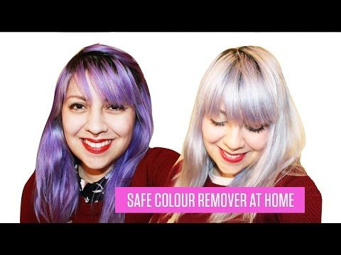 HOW TO REMOVE SEMI PERMANENT HAIR DYE - no bleach - YouTube