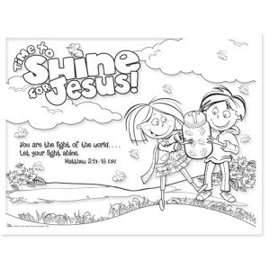 shine for jesus coloring pages | Shine For Jesus Coloring Page Coloring Pages